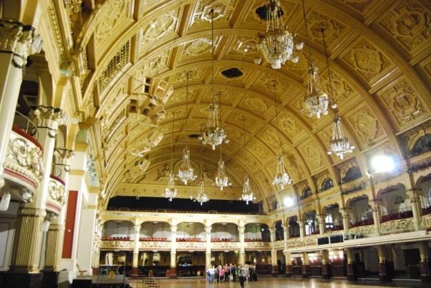 Empress Ballroom, Winter Gardens, Blackpool, Lancashire
