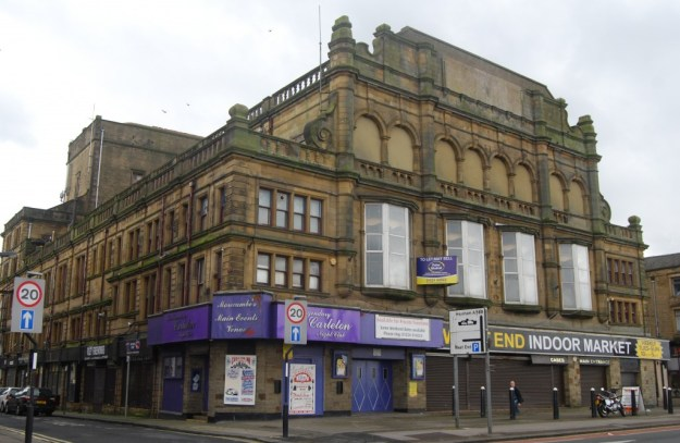 Former Alhambra Theatre, Morecambe, Lancashire
