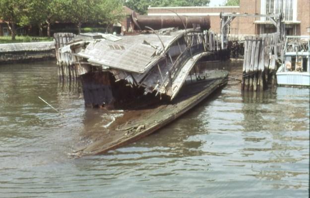 Ellis Island ferry-boat, New York City (1981)