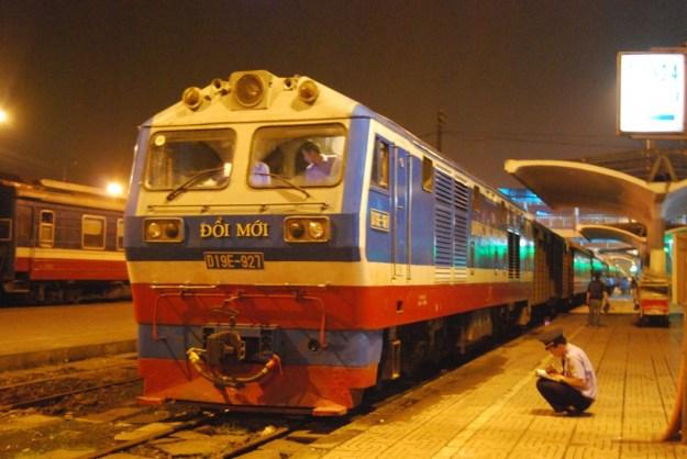 Vietnamese State Railways, Hanoi Station:  Reunification Express