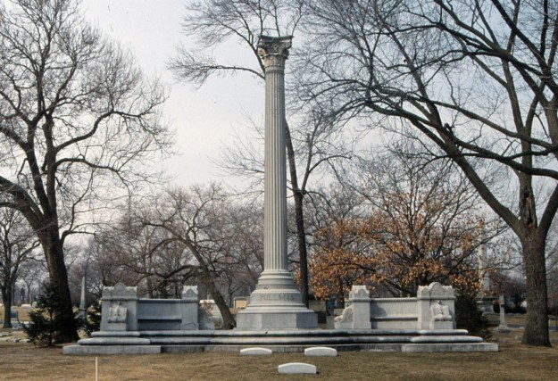 Graceland Cemetery, Chicago:  George Mortimer Pullman monument