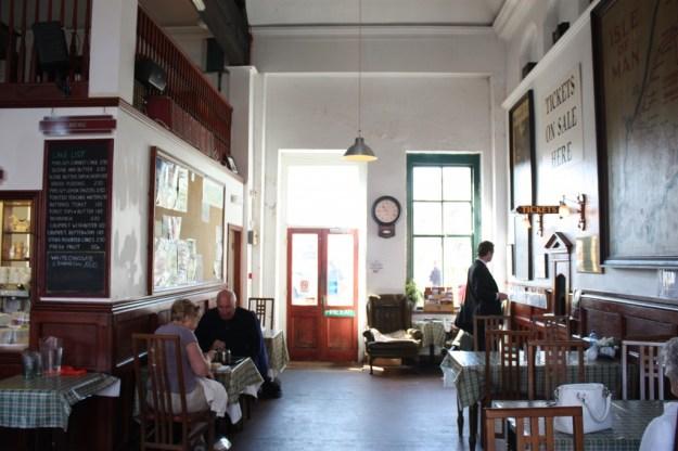 Railway Station, Douglas, Isle of Man:  booking hall