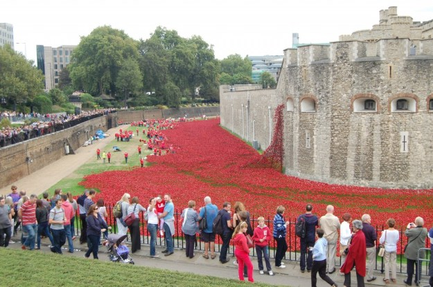 Paul Cummins, 'Blood Swept Lands and Seas of Red', Tower of London, Saturday August 30th 2014