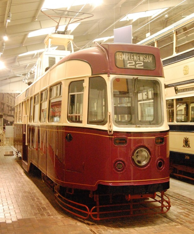 National Tramway Museum, Crich, Derbyshire:  Leeds 602