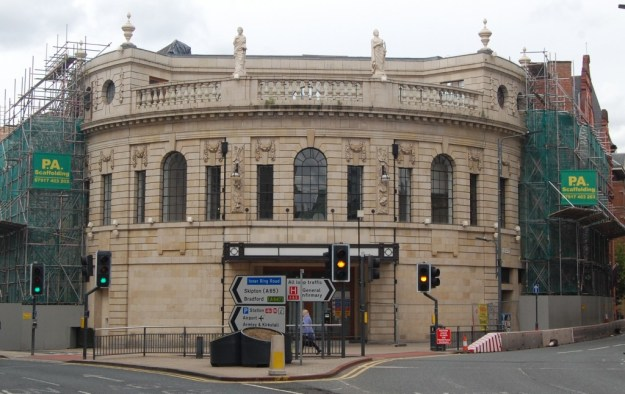 Former Majestic Cinema, City Square, Leeds (June 2015)