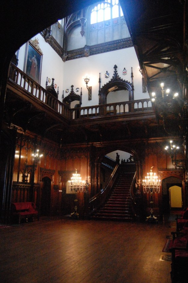 Allerton Castle, North Yorkshire:  Great Hall