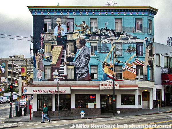 Murals, Outside Art, Exterior Murals, Mike Humbert