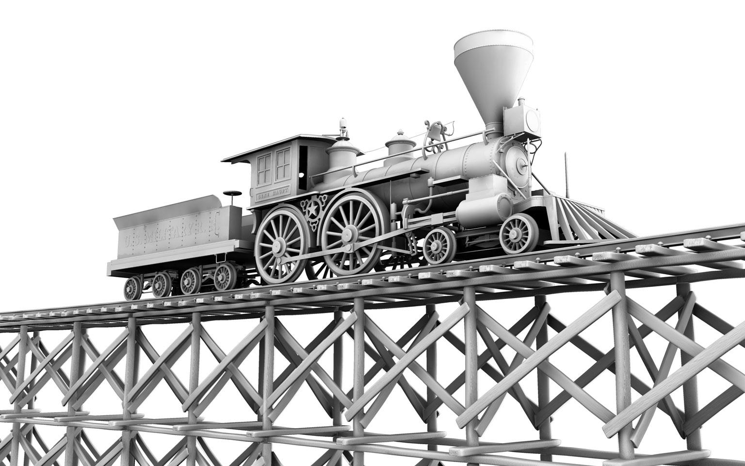 Before-General Locomotive