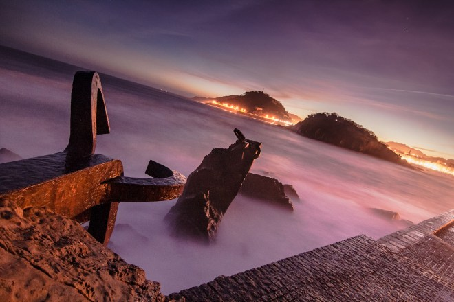 foto del Peine del viento Mikel Uzkudun Carrizo