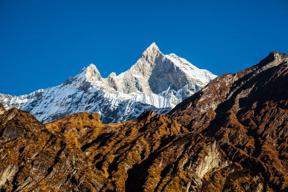 Nepal travel santuario de los Annapurnas