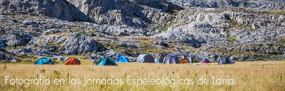 Fotografía en las Jornadas Espeleológicas en Larra