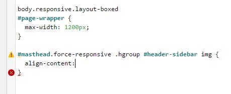 SiteOrigin Custom CSS Code Hinting and Highlighting