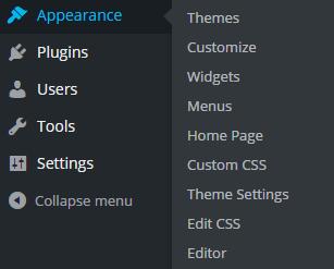 Vantage Theme Custom CSS