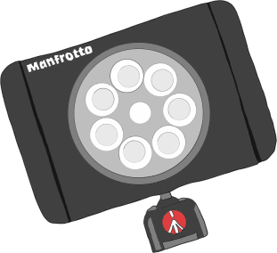01: Manfrotto Lumimuse 8