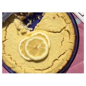 tart lemon torte