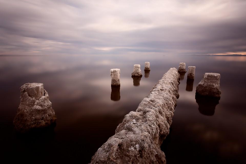 The Calm on Salton Sea