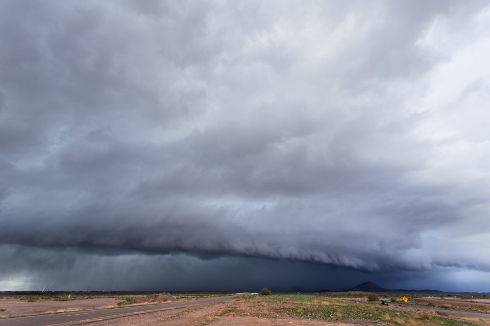 Shelf Cloud over Fountain Hills