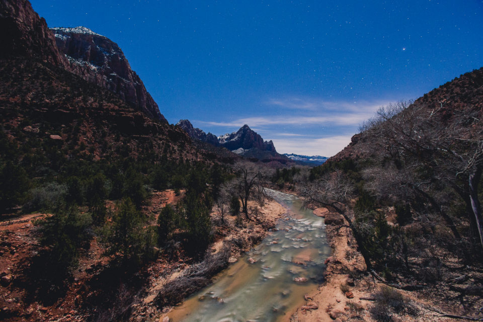 Zion by Moonlight