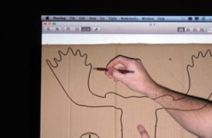 how to make your own cardboard box moose head wall hanging mike