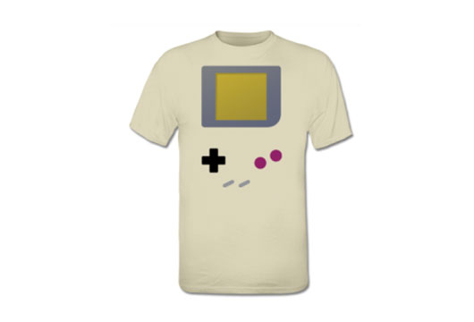nintendo game boy 1989 gaming controller tshirts and apparel