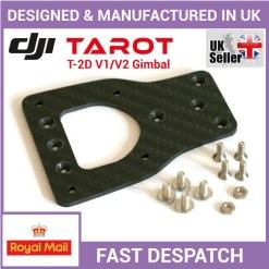 How to install a Carbon Fiber Adapter Mounting Plate for a Tarot T-2D gimbal on DJI Phantom 2