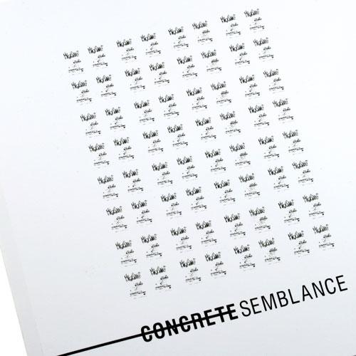 Concrete Semblance Conceptual Art Book
