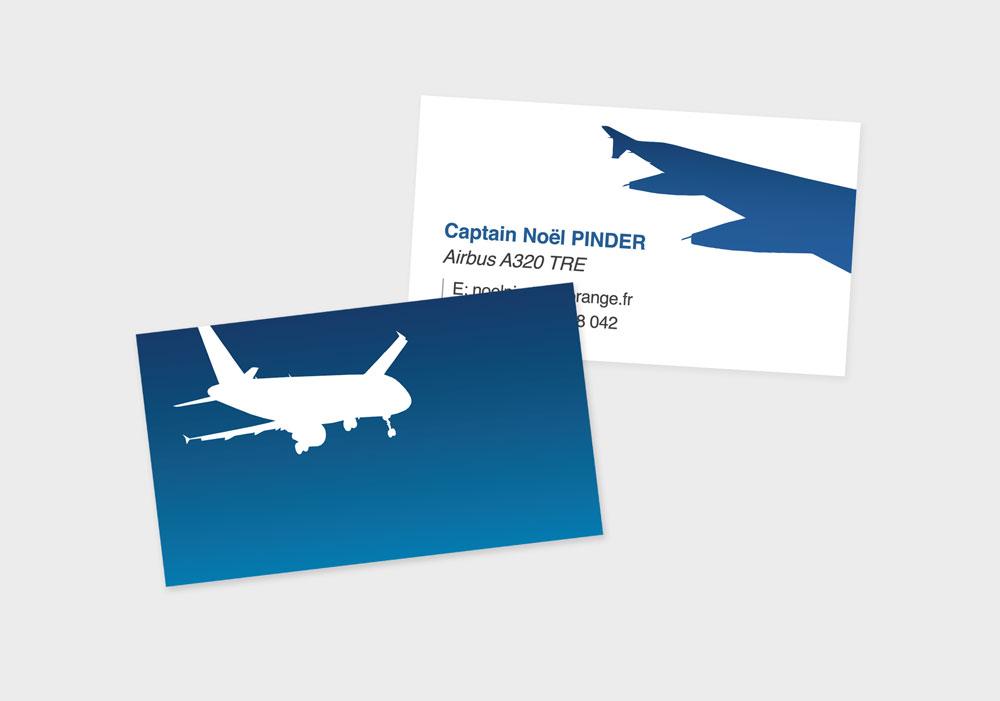 Airbus A320 TRE Business Cards » pilot, trainer and examiner unique ...