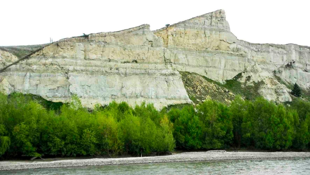 Bannockburn Formation of the Miocene Manuherikia Group, exposed at Galloway, New Zealand