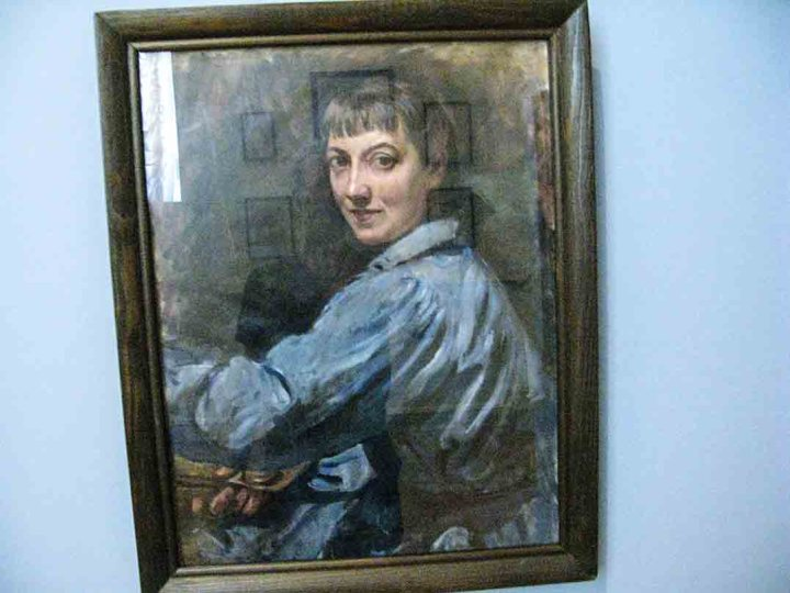 Self portrait of Zinaida Serebriakova, 1946, State Russian Museum in St Petersburg,