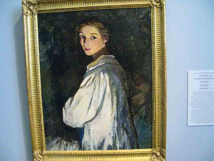 Self portrait of , State Russian Museum in St Petersburg,