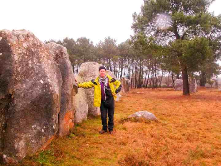 Yours Truly at Carnac.