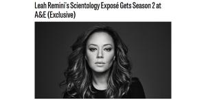Scientology's Lame Response