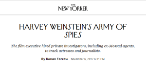 Harvey Weinstein & Scientology – Separated at Birth?