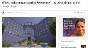 Scientology Tax Exemption — Muffins Strikes Back