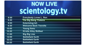 Scientology TV Fail