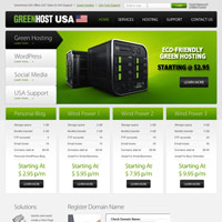 GreenHost USA screenshot