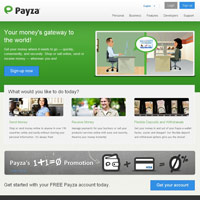 Payza screenshot