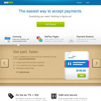WePay screenshot
