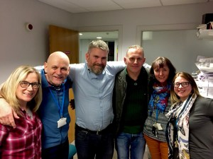 Staff at the Glasgow City Mission