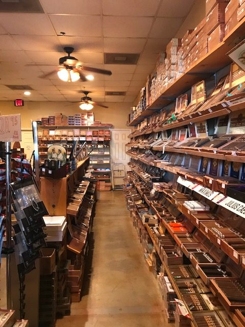 Mike's Cigar Room Interior