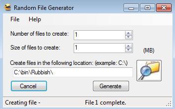 Random File Generator