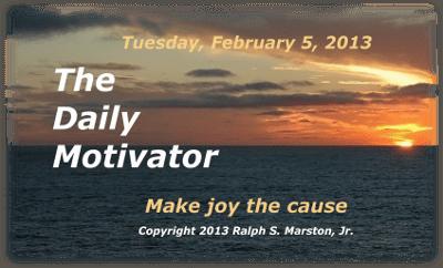 Go For The Joy!