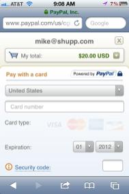 Mobile Site Screenshot 5