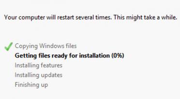 Watching Software Install