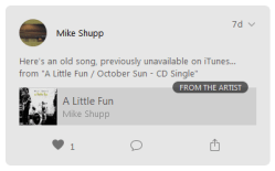 """""""A Little Fun"""" on Apple Music Connect"""