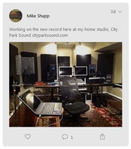 Home studio City Park Sound