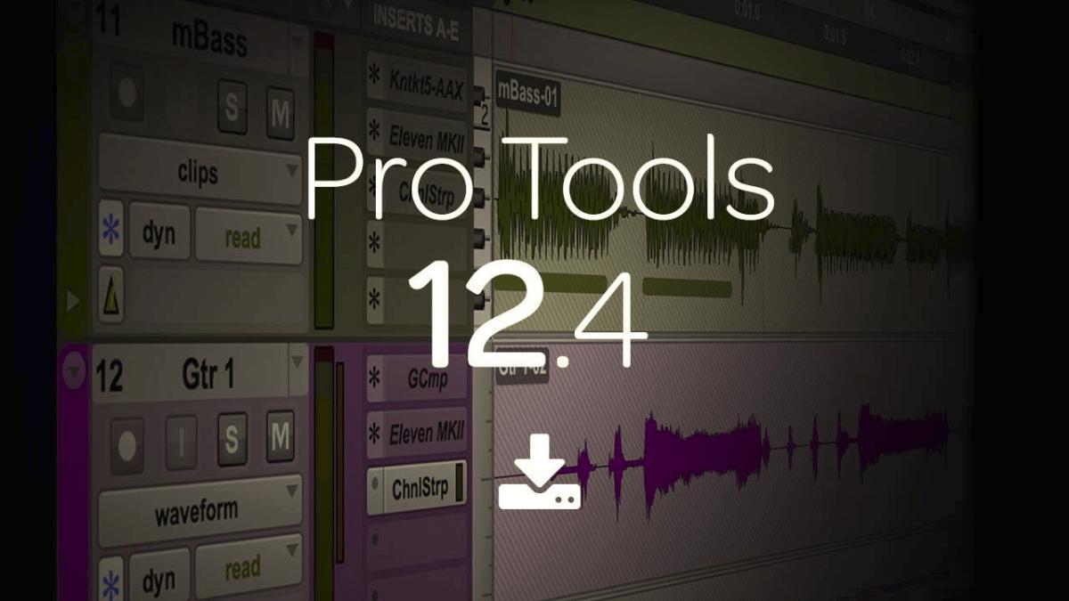 Avid Pro Tools® | Software 12.4