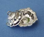 Miniature silver serving dish