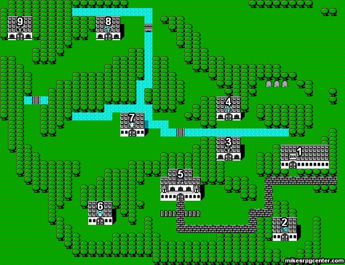 Mikes RPG Center Final Fantasy Maps Elfland
