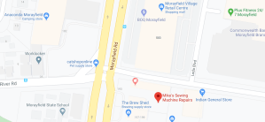 mikes sewing machine repairs location